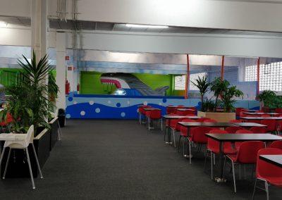 den Kaffee geniessen während die Kinder sich austoben?-Masulino-Indoorspielplatz-Wiesbaden
